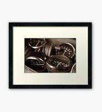 speedos Framed Print