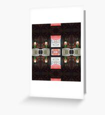phone box party Greeting Card