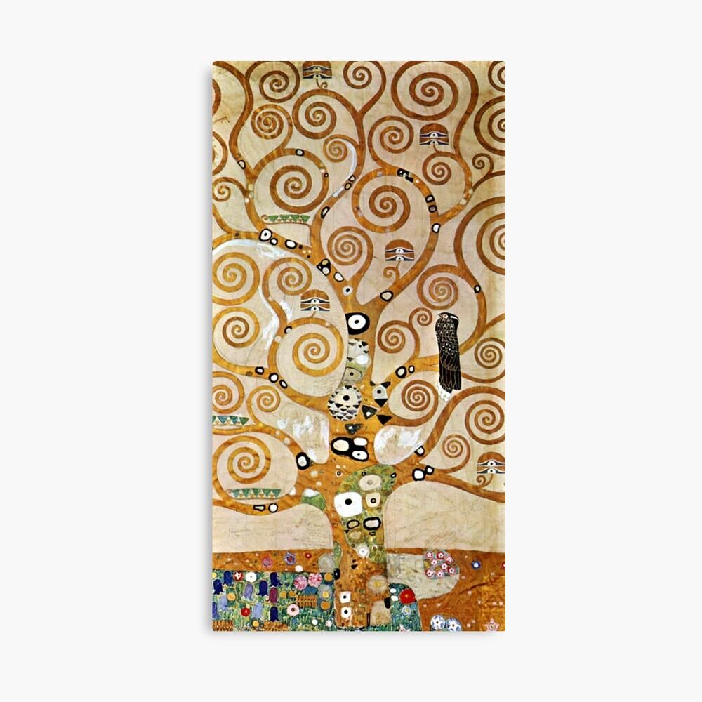 Klimt L Arbre De Vie Tableau impression photo « gustav klimt arbre de vie doré avec