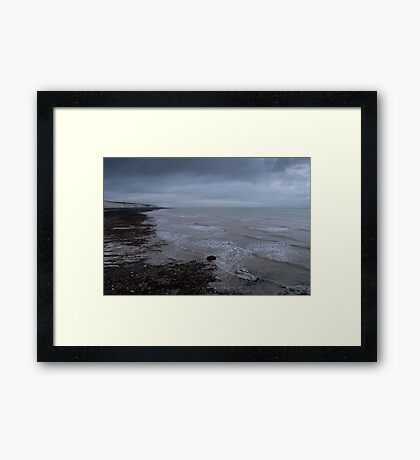 Along the Coastline Framed Print