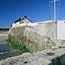Lyme Regis harbour master building by StephenRB