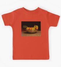 Fruit bowl still life Kids Clothes