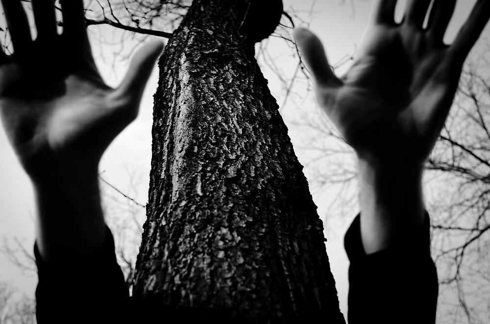 Dark hands by donato radatti