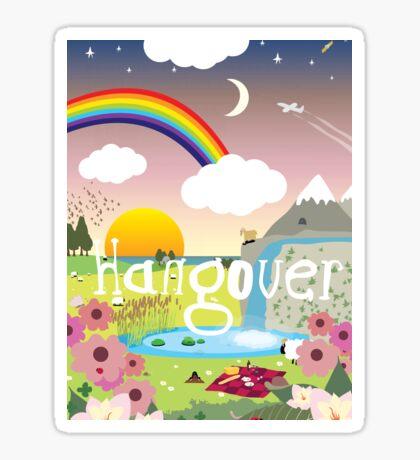 Hangover Sticker