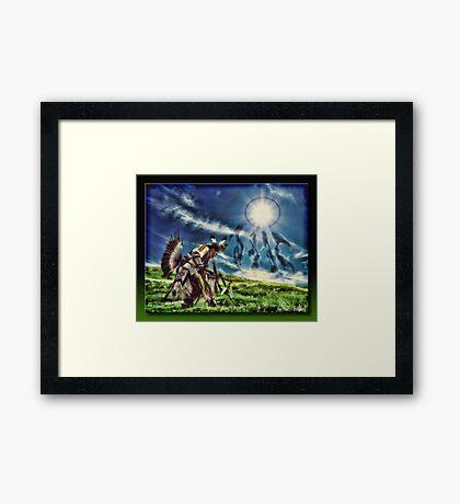 The Dream Dancer Framed Print