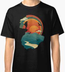 Camiseta clásica Borde del acantilado