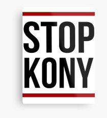 Stop Kony Poster - Kony 2012 - Joseph Kony Metal Print