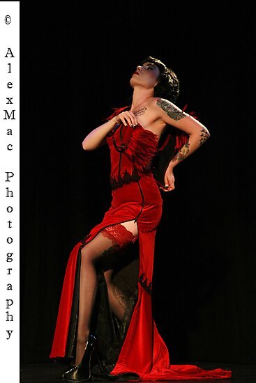 Miss Burlesque South Australia Dezzi by AlexMac