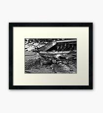 Ship Wreck Framed Print