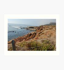 seaside in san diego Art Print