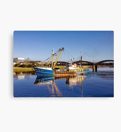 Kirkcudbright Reflections Canvas Print