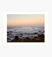 Cambria Sunset Art Print