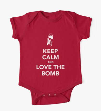 Keep Calm And Love The Bomb Kids Clothes