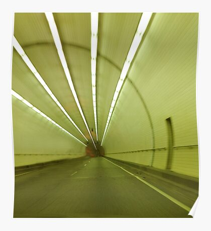 George Wallace Tunnel in Mobile Alabama Poster