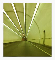 George Wallace Tunnel in Mobile Alabama Photographic Print