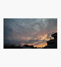 Evening 4 Photographic Print