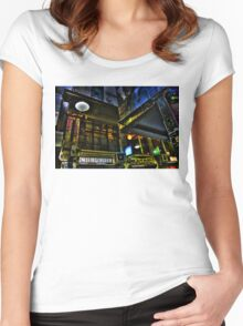 Degraves St 03 Women's Fitted Scoop T-Shirt