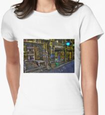 Degraves St 13 Womens Fitted T-Shirt