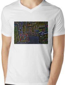 Degraves St 01 Mens V-Neck T-Shirt
