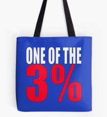 ONE OF THE 3% Tote Bag