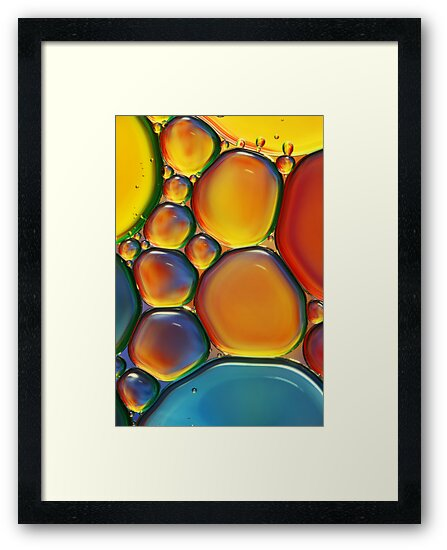 Tropical Oil & Water II by Sharon Johnstone
