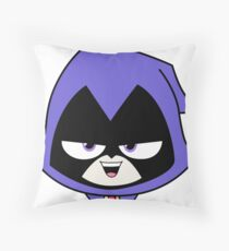 Teen Titans Raven Throw Pillow