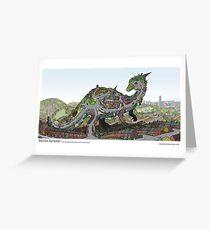 Hunters Barasaur Greeting Card