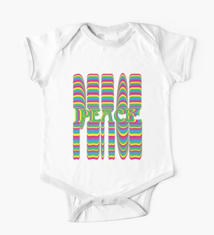 Psychedelic Peace Kids Clothes