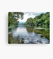 Shenandoah River Canvas Print