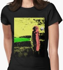 wheat shaman Women's Fitted T-Shirt