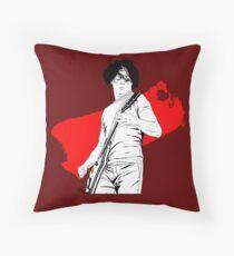 Jack rocking out Throw Pillow