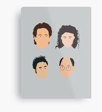 Jerry, Elaine, Kramer, George Metal Print
