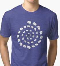 Elephant Dance Tri-blend T-Shirt