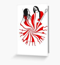 Candy Cane Children Greeting Card