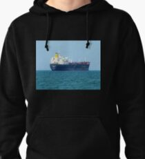 *Freighter leaving the Bay* - Melbourne, Vic. Pullover Hoodie