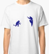 Monkey Kung Fu with Knife Classic T-Shirt