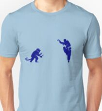 Monkey Kung Fu with Knife Unisex T-Shirt