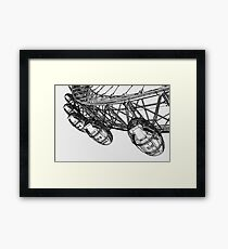 London Eye Digital Art Framed Print