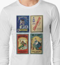 Broom Labels Long Sleeve T-Shirt