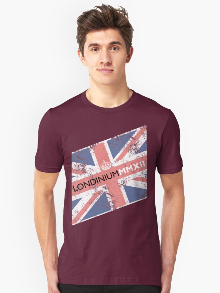 London 2012 - Londinium MMXII Union Jack  Unisex T-Shirt Front