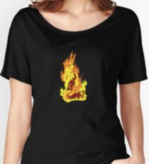 The Self-Immolation of Thích Quảng Ðức Women's Relaxed Fit T-Shirt
