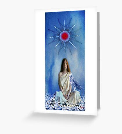 Priestess Of Avalon Greeting Card