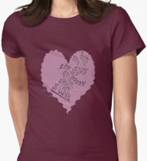 ~ Dance of LOVE ~ Womens Fitted T-Shirt