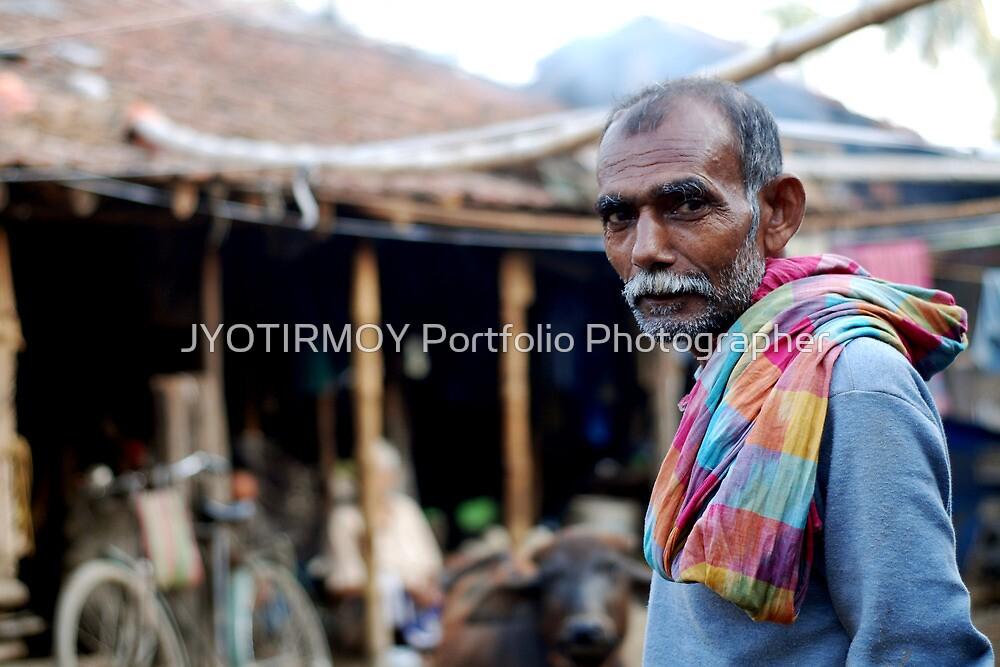 Eyes says all  by JYOTIRMOY Portfolio Photographer