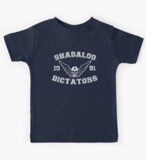 Shadaloo Dictators Kids Tee