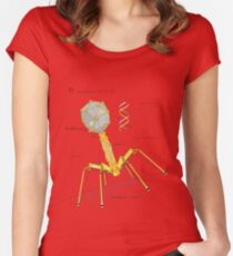 T1 Mechanovirus Women's Fitted Scoop T-Shirt