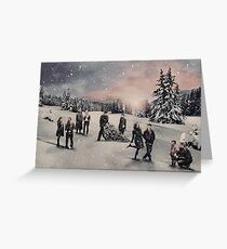 Christmas - OUAT Group Greeting Card