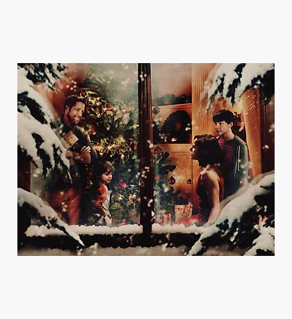 Christmas - Outlaw Queen Family Photographic Print