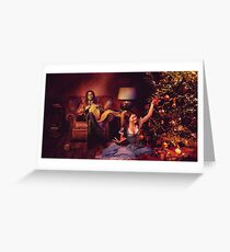 Christmas - Rumbelle Christmas  Greeting Card