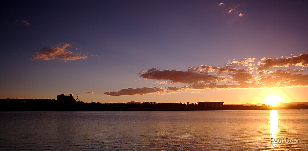 Canberra Sunset by Paul Dean